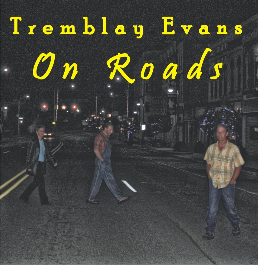 """On Roads"" Cd Cover"