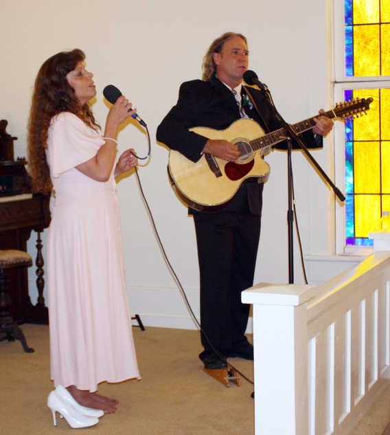 Playing at Our Wedding